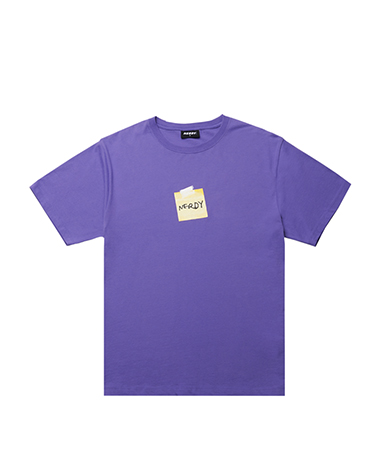 Post It T-shirt Purple