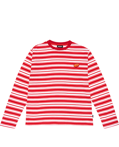 Stripe T-shirt Red
