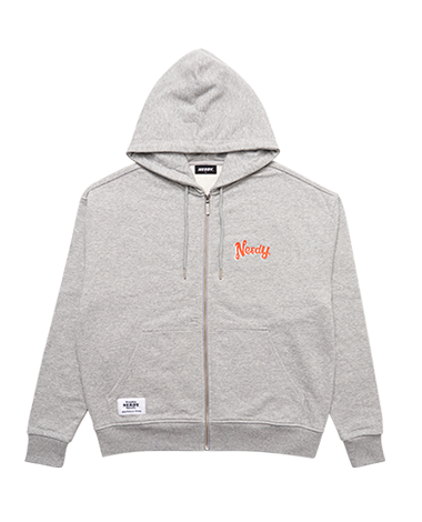 Hooded Zip-up Gray