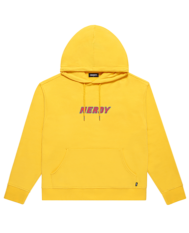 Logo Pullover Hoodie Yellow