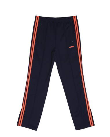 NY Track Pants Navy / Orange (3M Scotch)