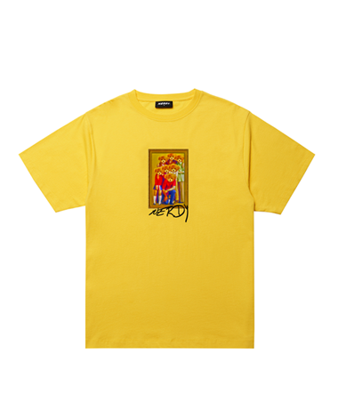 Bear Family T-shirt  Yellow