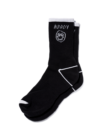Character Socks Black
