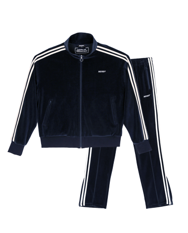 Velour Track SET Navy