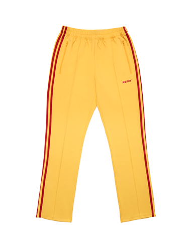 NY Track Pants Yellow / Red