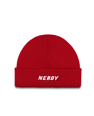 Basic Logo Beanie Red