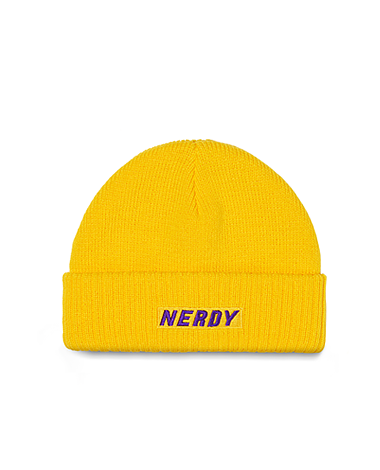 Basic Logo Beanie Yellow