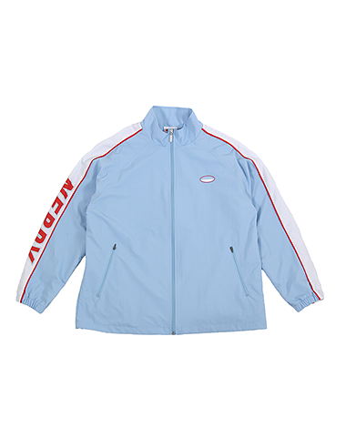 Line Windbreak Track Top Sky Blue