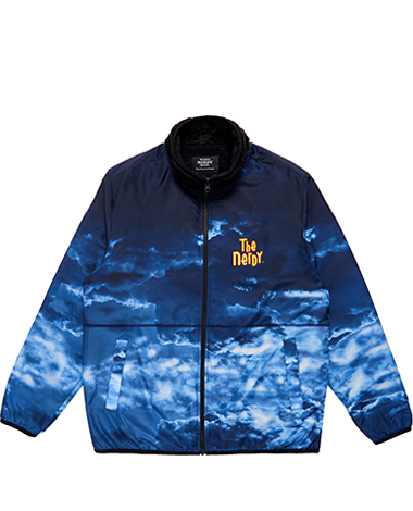 Reversible Fleece Jacket Navy