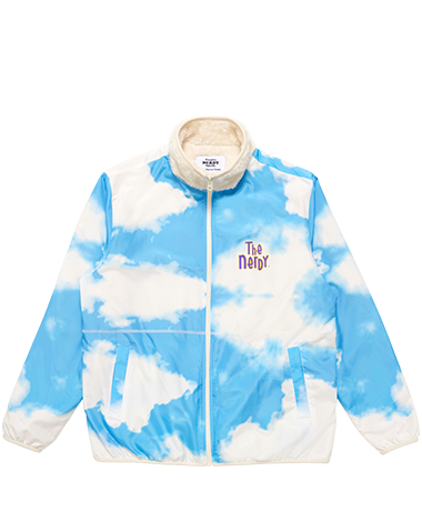 Reversible Fleece Jacket Skyblue
