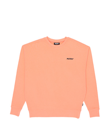 Basic Logo Sweatshirt Light Orange