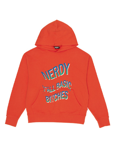 Y'all Basic Pullover Hoodie Orange