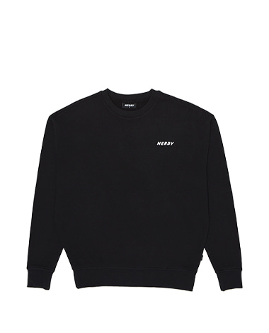 Basic Logo Sweatshirt Black