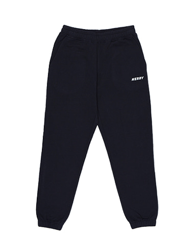 Basic Logo Sweatpants Black