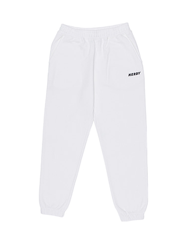 Basic Logo Sweatpants Off White