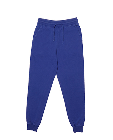 Washed Jogger Pants Blue