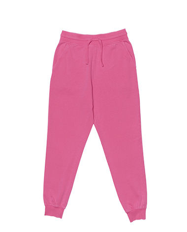 Washed Jogger Pants Pink