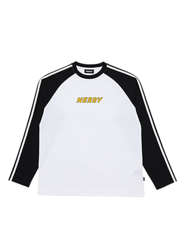 Raglan Long Sleeve T-shirt Black