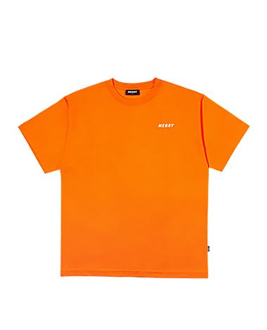 Basic 1/2 Sleeve T-shirt Orange