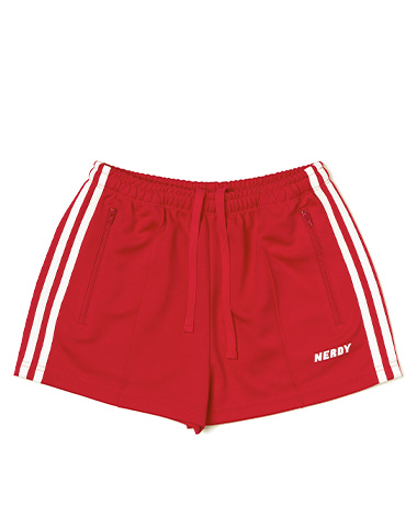 Women's NY Track Shorts Red