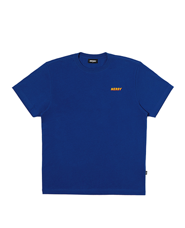 Graphic 1/2 Sleeve T-shirt Royal Blue
