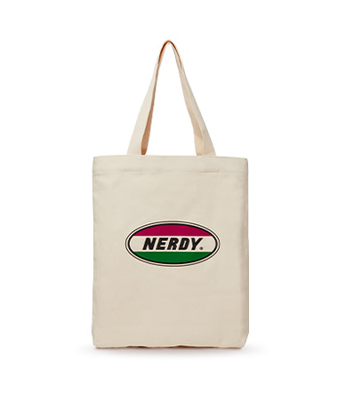 Oval Logo Eco Bag Oatmeal