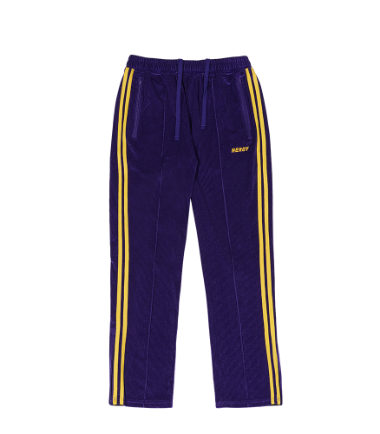 [8/28 순차출고] Corduroy Velvet Track Pants Purple